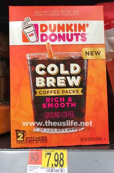 ダンキンドーナツ ColdBrewコーヒー