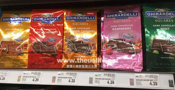 アメリカのチョコレート GHIRARDELLI