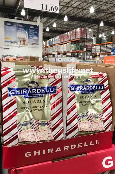 クリスマス限定ギラデリチョコレート