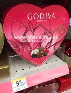 バレンタイン限定のゴティバチョコレート