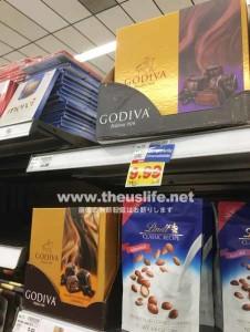 アメリカのチョコレート GODIVA