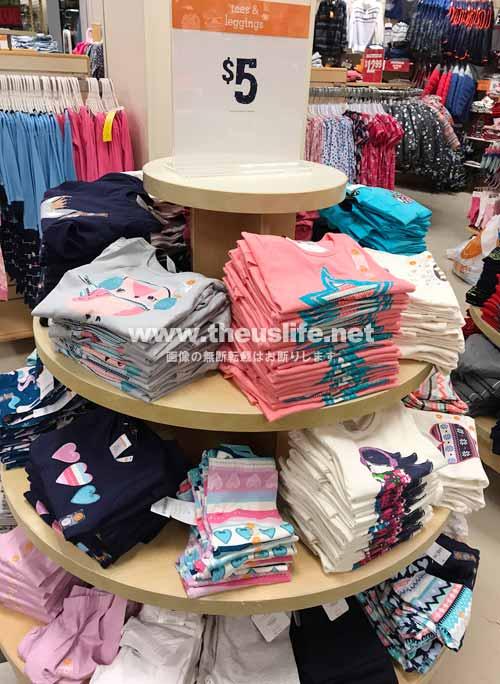 Gymbree(ジンボリー)女の子用のTシャツ