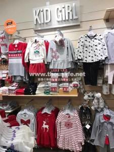 Gymbree(ジンボリー)女の子用の子供服売り場
