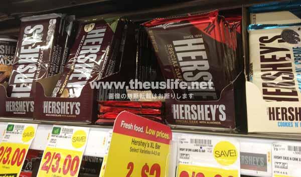 アメリカのチョコレート HERSHEY'S