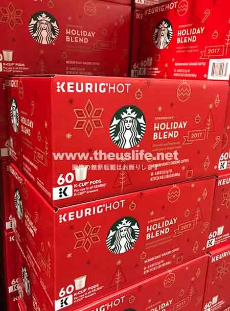 キューリグのスターバックス季節限定コーヒー60個入り