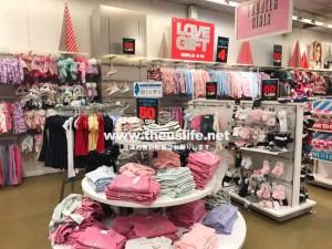 The Children's Place(ザ・チルドレンズプレイス)女の子の子供服売り場