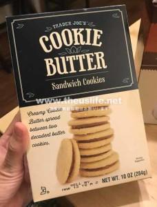 Traderjoes のクッキーバタークッキー