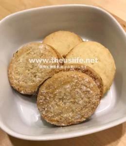 Traderjoes のチョコレートヘーゼルナッツとクッキーバタークッキー