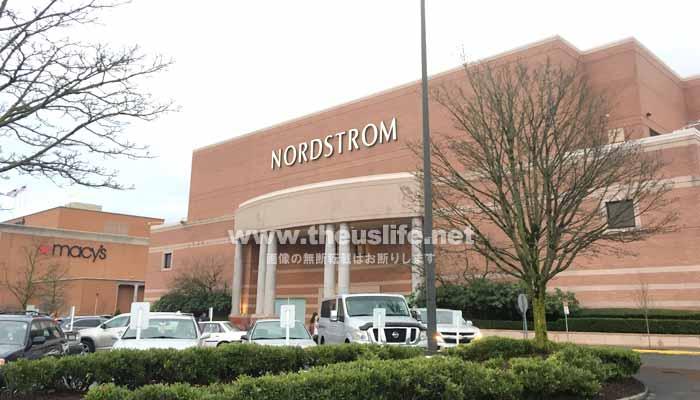 アメリカのデパート Nordstrom(ノードストローム)外観