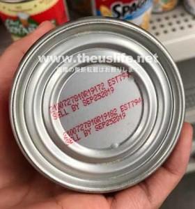 DollarTreeの缶詰食品賞味期限