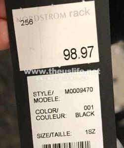 Nordstrom Rack の Mark Jacobs 斜め掛けバッグ値段