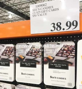 See's Candies の商品券