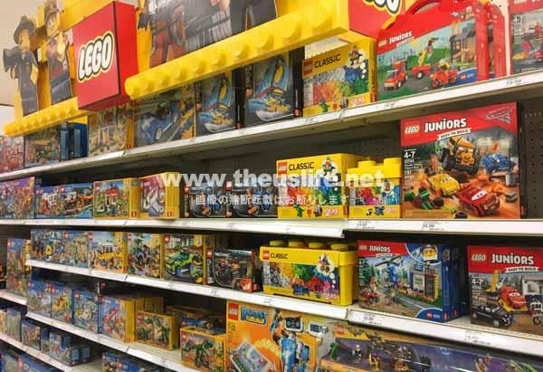 ターゲットに売ってあるレゴ