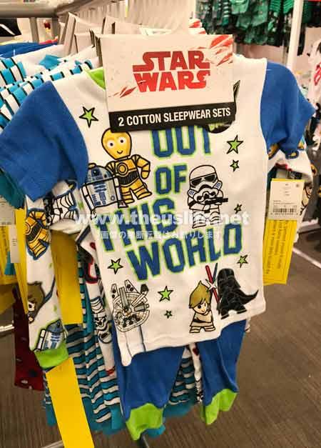 スターウォーズ子供用パジャマ