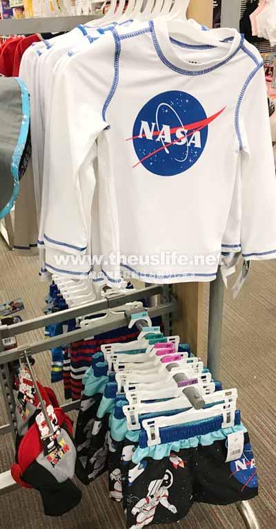 ターゲットのNASA関連の服