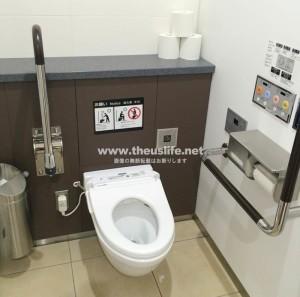 羽田空港のトイレ