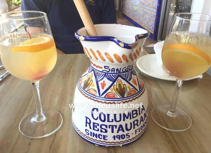 コロンビアレストランのサングリア