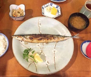 フロリダの日本食レストラン花水木