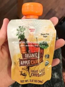 Traderjoes Fruitscrush ベビーフード