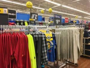 Walmart(ウォルマート)服売り場