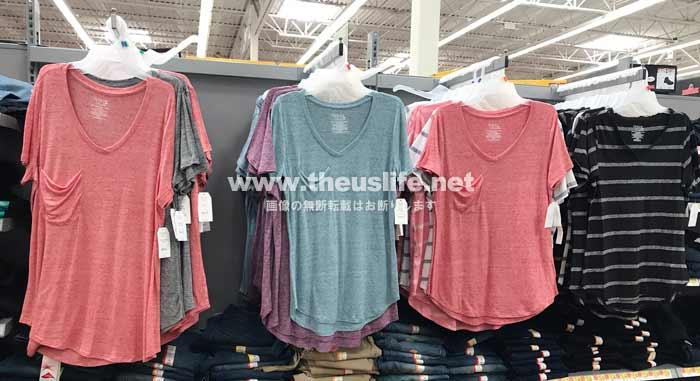 Walmart(ウォルマート)女性服売り場
