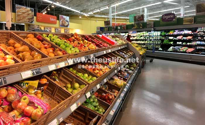 Walmart(ウォルマート)果物売り場