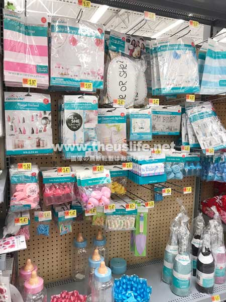 Walmart(ウォルマート)ベビーシャワーグッズ