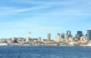 シアトル エリオット湾クルーズ風景