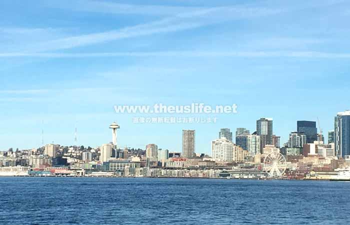 シアトルクルーズ風景
