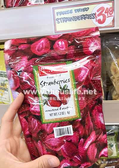 Traderjoes ストロベリードライフルーツ