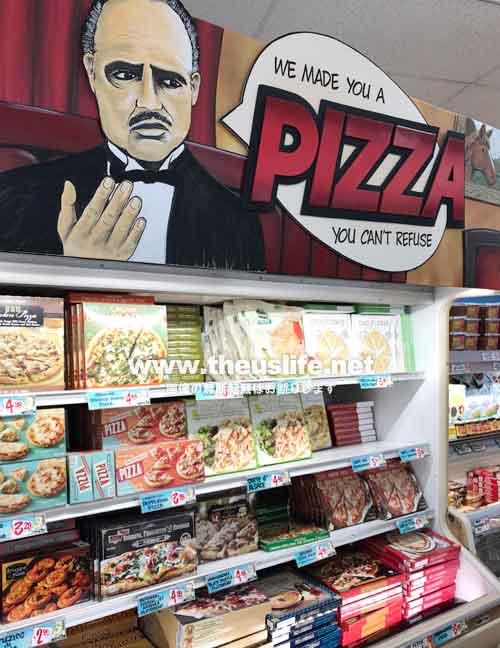 トレーダージョーズのピザ売り場