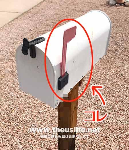アメリカのメールボックス