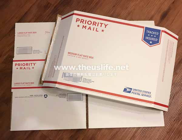 Priority Mail Envelope and box