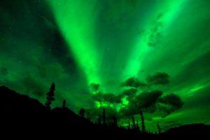 アラスカ ウェアバンクスのオーロラ