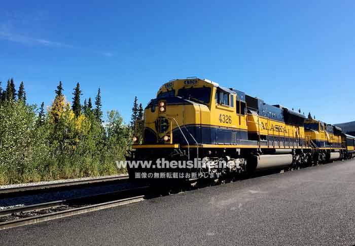 アラスカ鉄道 夏の風景