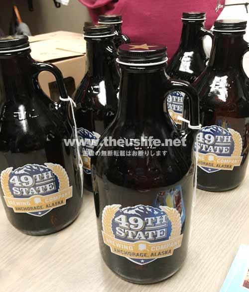 アラスカのお土産 地ビール 49th State
