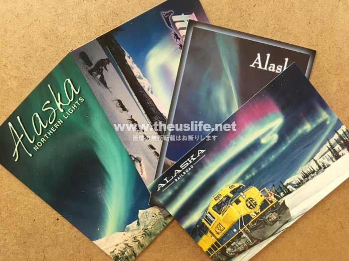 アラスカのポストカード