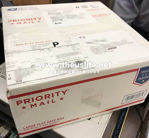 アメリカUSPSから日本へ荷物を送る