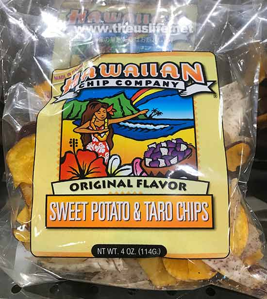 Wholefoods Hawaii タロ芋のチップス