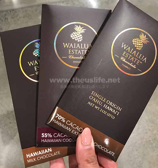 Wholefoods Hawaii Waoalua 板チョコレート