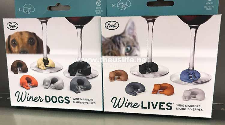 ワイングラスドリンキングマーカー