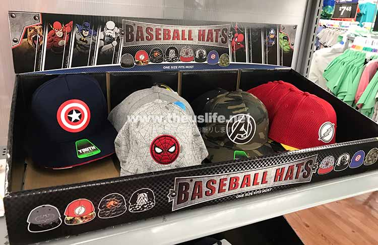 Mavelcomicsキャラクター野球帽